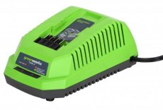 GreenWorks G40C Lader